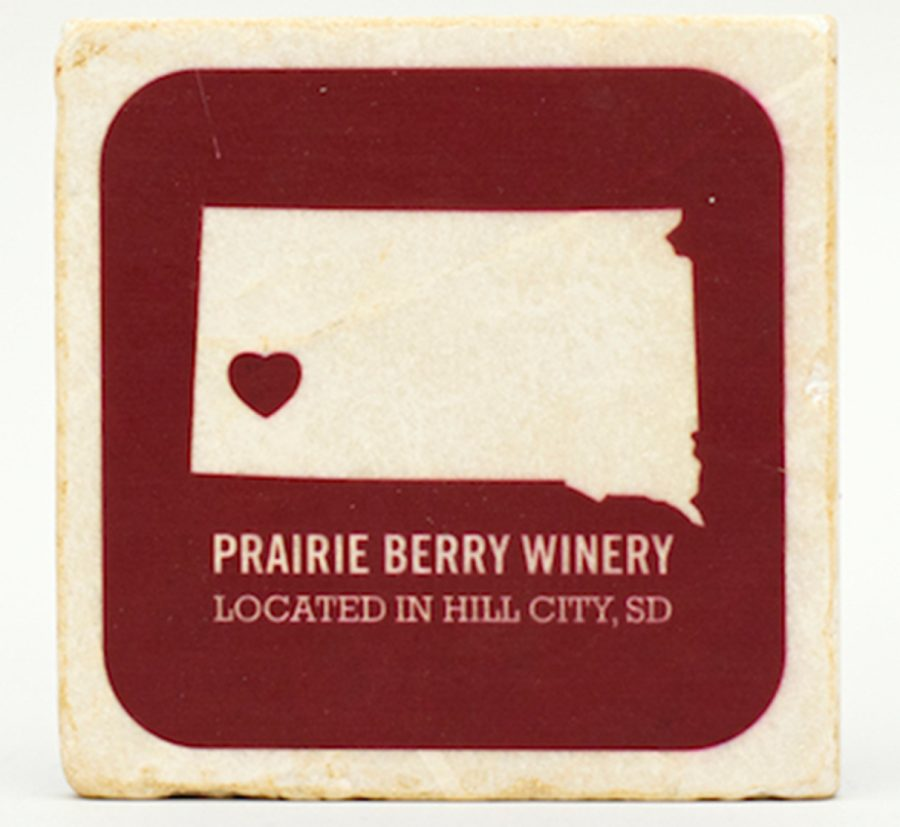 Prairie Berry South Dakota ♥ Coaster
