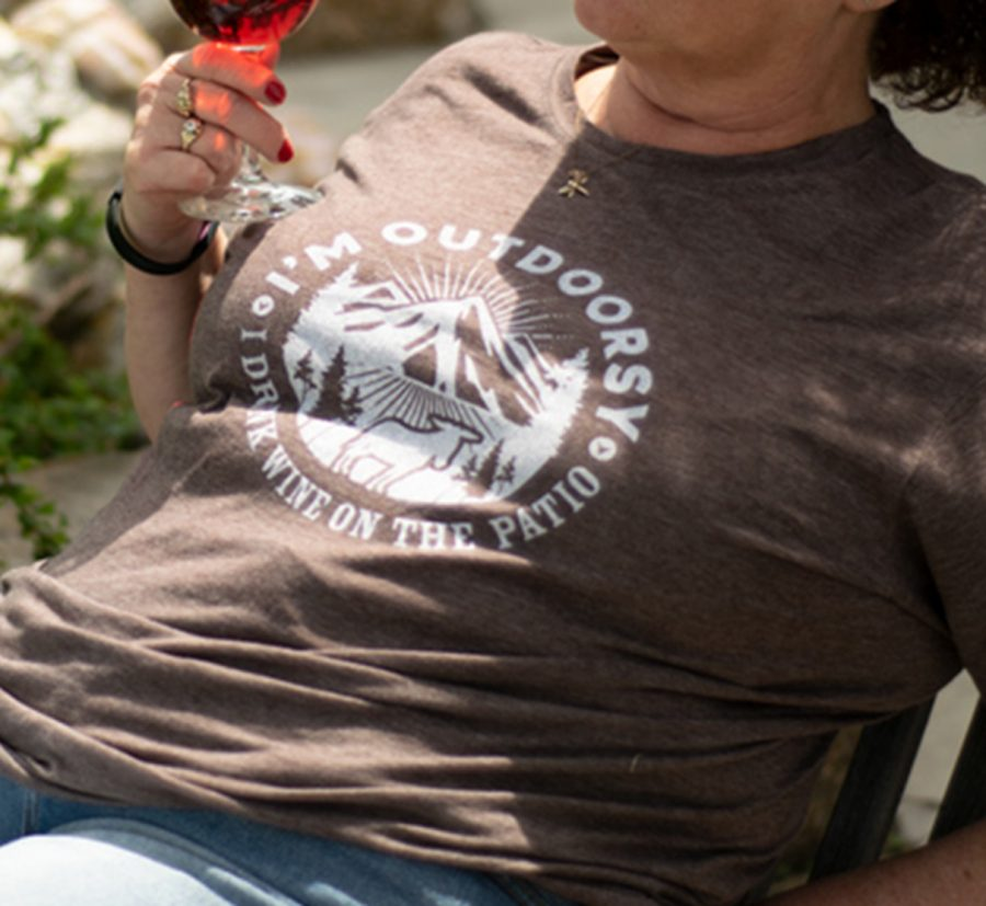 Prairie Berry T-Shirt I'm Outdoorsy