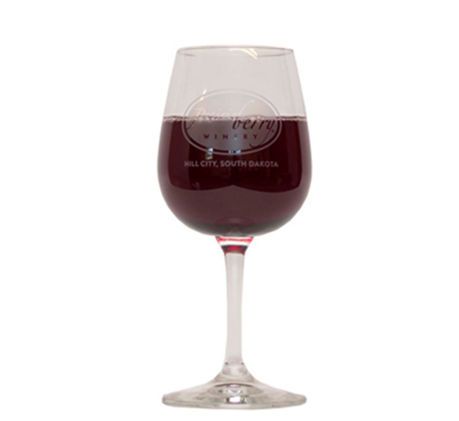 Prairie Berry Wine Glass