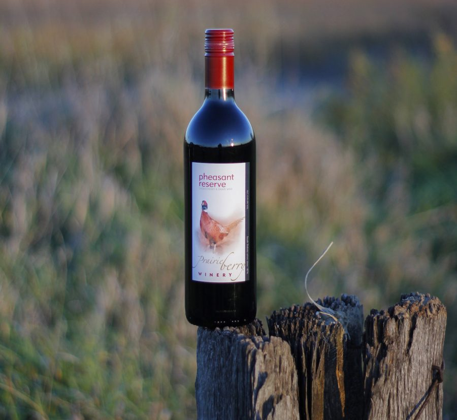 For a limited time, get a case (12 bottles) of Prairie Berry Winery's Pheasant Reserve wine plus free shipping for just $199.