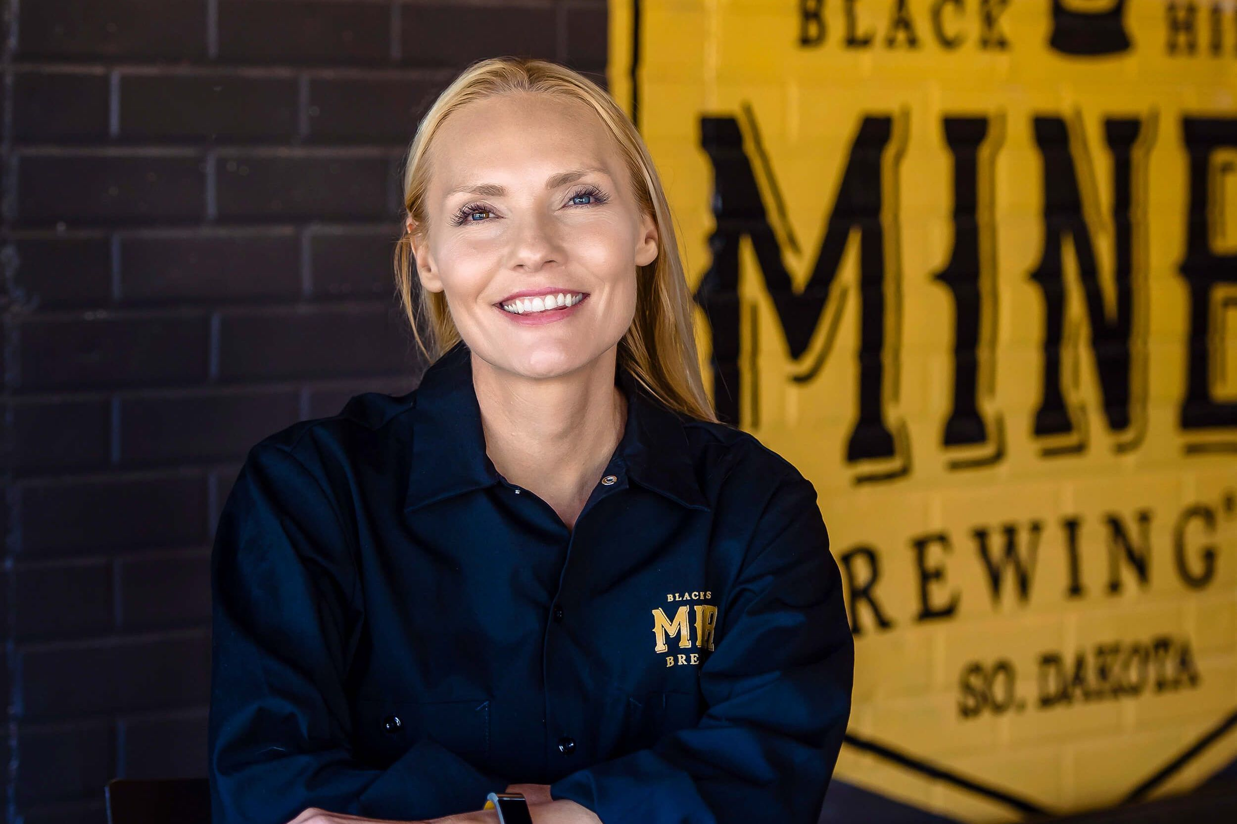 Sandi Vojta is co-founder and Brewmaster at Miner Brewing Company near Hill City, South Dakota.